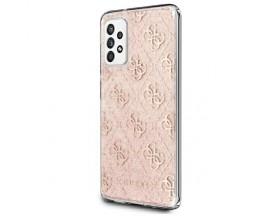 Husa Premium Guess Glitter Compatibila Cu Samsung Galaxy A32 5G, Roz
