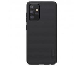 Husa Spate Nillkin Frosted Compatibila Cu Samsung Galaxy A72 5G, Negru
