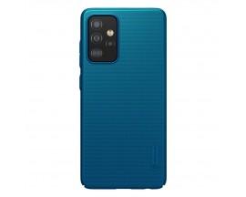 Husa Spate Nillkin Frosted Compatibila Cu Samsung Galaxy A72 5G, Albastru