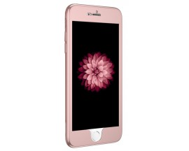 Husa Protectie silicon 360 grade Mixon iPhone 6/6S Plus Rose gold