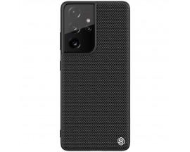 Husa Spate Nillkin Rugged Textured Compatibila Cu Samsung Galaxy S21 Ultra 5G, Negru