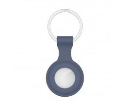 Husa Tech-protect Icon Compatibila Apple Airtag, Albastru