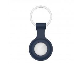 Husa Tech-protect Icon Compatibila Apple Airtag, Albastru Navy