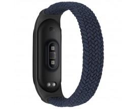 Curea Upzz Tech Loop Compatibila Cu  Xiaomi Mi Smart Band 5 / 6, Charocal