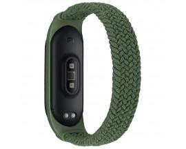 Curea Upzz Tech Loop Compatibila Cu  Xiaomi Mi Smart Band 5 / 6, Army Verde