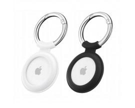 Set 2 x Husa Esr Cloud  Compatibila Apple Airtag, Alb Si Negru