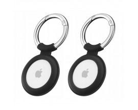 Set 2 x Husa Esr Cloud  Compatibila Apple Airtag, Negru