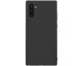 Husa Slim Upzz Carbon Fiber Compatibila Cu Samsung Galaxy Note 10 Silicon, Model Carbon Fiber