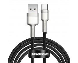 Cablu Date Incarcare Baseus Cafule Metal Usb la Usb-C Power Delivery 40W, Super Charge Protocol, 2M Lungime