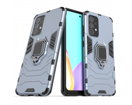 Husa Spate Upzz Ring Armor Hybrid Pentru Samsung Galaxy A52 4G / A52 5G , Albastru
