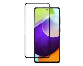 Folie Wozinsky Nano Flexible Compatibila Cu Samsung Galaxy A52 4G / A52 5G, Transparenta Cu Margine Neagra