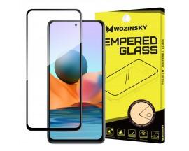 Folie Sticla Securizata Wozinsky Compatibila Cu Xiaomi Redmi Note 10 / Redmi Note 10S, Transparenta Cu Margini Negre