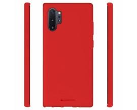 Husa Spate Mercury Goospery Soft Compatibila Cu Samsung Galaxy Note 10 Plus, Rosu