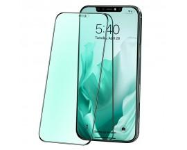 Folie Sticla Premium Joyroom Knight Compatibila Cu iPhone 12 / 12 Pro, Filtru Anti Blue Light, Protectie La Ochi, JR-PF599
