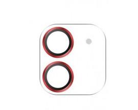 Folie Sticla Camera Joyroom Shining Compatibila Cu iPhone 12, Red JR-PF687