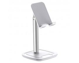 Suport Universal Joyroom Enjoy Pentru Telefon Si Tableta, Aluminiu Alb - JR-ZS203