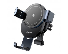 Suport Auto Joyroom Wireless Pentru Ventilatie Quick Charge 15W, Gravity, Gri - JR-ZS212