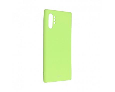 Husa Spate Silicon Roar Jelly Compatibila Cu Samsung Galaxy Note 10 Plus, Verde Lime