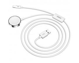 Cablu Date Incarcare  Joyroom 2 in 1, 1 x Lightning , 1 x Apple Watch, 1.5m, Husa Inclusa, Alb  S-IW002S