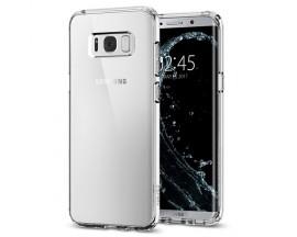 Husa Premium Spigen Ultra Hybrid Compatibila Cu Samsung Galaxy S8, Ultra Rezistenta Transparenta
