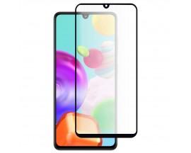 Folie Premium My Screen Protector Full Glue, Full Cover Pentru Samsung Galaxy A41, Glass Edge, Margine Neagra