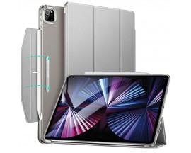 """Husa Esr Ascend Trifold Compatibila Cu iPad Pro 11"""" 2021 Silver Gri"""