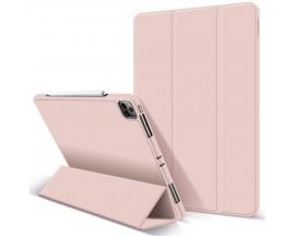 "Husa Upzz Tech Smartcase Sc Pen Compatibila Cu Ipad Pro 12.9"" 2021, Roz"