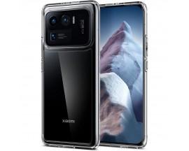 Husa Premium Spigen Ultra Hybrid Compatibila Cu Xiaomi Mi 11 Ultra, Transparenta
