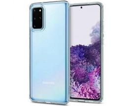 Husa Premium Spigen Crystal Flex Compatibila Cu Samsung Galaxy S20+ Plus, Silicon, Transparent