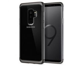 Husa Spigen Neo Hybrid Nc Compatibila Cu Samsung Galaxy S9+ Plus, Transparenta Gunmetal