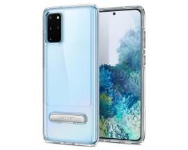Husa Premium Spigen Slim Armor Essential Compatibila Cu Samsung Galaxy S20+ Plus, Transparenta