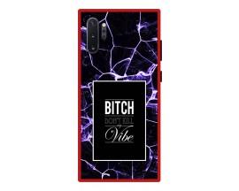 Husa Premium Spate Upzz Pro Anti Shock Compatibila Cu Samsung Galaxy Note 10+ Plus, Model My Vibe, Rama Rosie