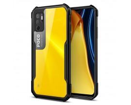 Husa Spate Upzz Beetle Tech Compatibila Cu Xiaomi Poco M3 Pro 5G / Redmi Note 10 5G, Negru