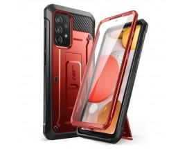 Husa Premium Supcase Unicorn Compatibila Cu Samsung Galaxy A52 4G / A52 5G, Rosu Metalic