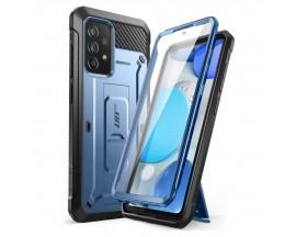 Husa Premium Supcase Unicorn Compatibila Cu Samsung Galaxy A52 4G / A52 5G, Albastru Metalic