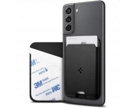 Husa Piele Port Carduri Pentru Telefon Spigen Valentinus Universala