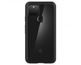 Husa Premium Spigen Ultra Hybrid Compatibila Cu Google Pixel 5A, Transparenta Cu Margini Negre
