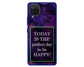 Husa Premium Spate Upzz Pro Anti Shock Compatibila Cu Samsung Galaxy A42 5G, Model Perfect Day, Rama Albastra