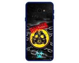 Husa Premium Spate Upzz Pro Anti Shock Compatibila Cu Samsung Galaxy J4+ Plus, Model Toxic, Rama Albastra