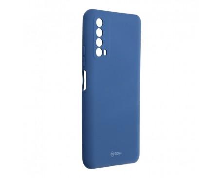 Husa Spate Silicon Roar Jelly Compatibila Cu Huawei P Smart 2021, Navy