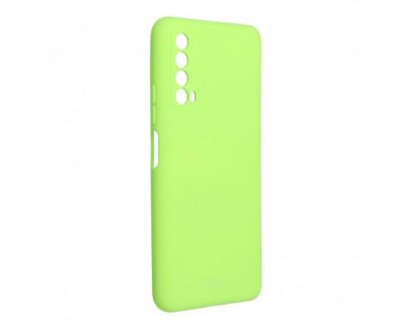 Husa Spate Silicon Roar Jelly Compatibila Cu Huawei P Smart 2021, Verde Lime