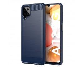 Husa Spate Upzz Carbon Pro Compatibila Cu Samsung Galaxy A12 / M12, Albastru