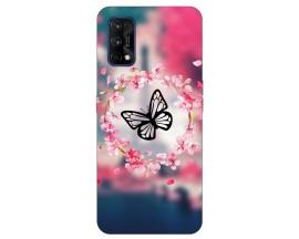 Husa Silicon Soft Upzz Print Compatibila Cu Realme 7 Pro Model Butterfly