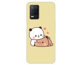 Husa Silicon Soft Upzz Print Compatibila Cu Realme 8 Model Teddy