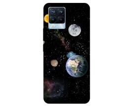 Husa Silicon Soft Upzz Print Compatibila Cu Realme 8 Pro Model Earth