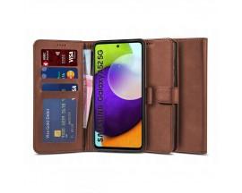 Husa Flip Carte Upzz Tech Wallet 2 Compatibila Cu Samsung Galaxy A52 5g, / A52 Maro