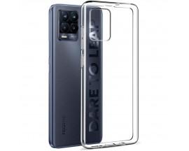 Husa Ultra Slim Upzz Compatibila Cu Realme 8, Grosime 0.5mm Transparenta