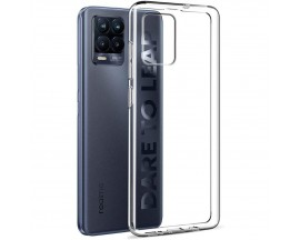 Husa Ultra Slim Upzz Compatibila Cu Realme 8 Pro, Grosime 0.5mm Transparenta