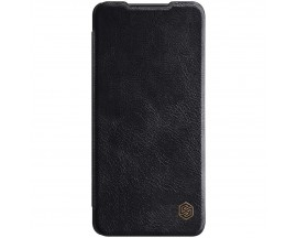 Husa Flip Cover Book Premium Nillkin Qin Compatibila Cu Samsung Galaxy A72 4G, Negru, Piele Ecologica