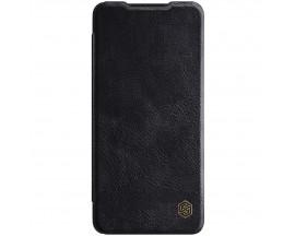Husa Flip Cover Book Premium Nillkin Qin Compatibila Cu Samsung Galaxy A52 4G / A52 5G, Negru, Piele Ecologica